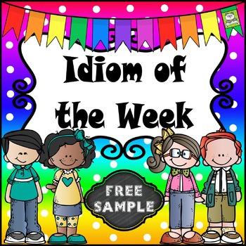 Idiom of the Week FREE SAMPLE