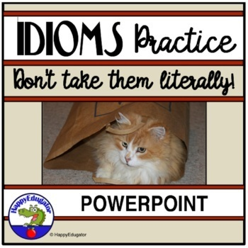 Idioms: Idioms Interactive PowerPoint