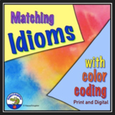 Idioms Matching with Color Coding