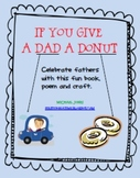 If You Give a Dad a Donut - Father's Day book - Craft - Writing