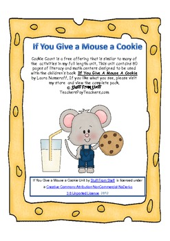 If You Give a Mouse a Cookie / Cookie Count {FREE}