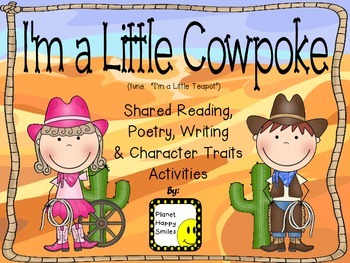 """I'm a Little Cowpoke"" ~ Reading, Writing, Poetry, & Chara"