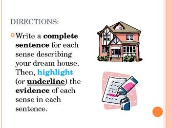 descriptive dream house essays