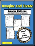 Imagine and Create Drawing Challenge Packet