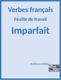 Imparfait raisons worksheet