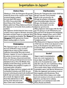 Imperialism of Japan?