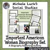 Important American Women Biography Centers Women's History