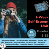 Health Unit: Improving Self-Esteem - Includes PwrPt. and 7