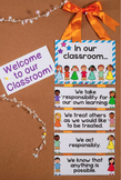 """""""In Our Classroom"""" {Posters for Classroom Expectations and"""