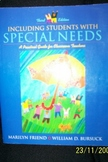 Including Students with Special Needs: A Practical Guide f