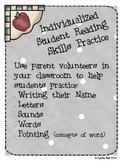 Individualized Student Reading Skills Practice Kit