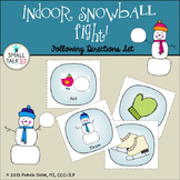 Indoor Snowball Fight:  Following Directions Set