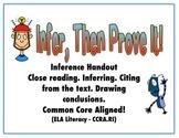 Infer Then Prove It!