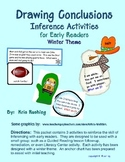 Drawing Conclusions - Inference Activities - For Early Rea