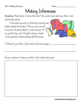 Inference Worksheets