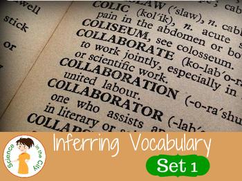 Inferring Vocabulary Cards Set 1
