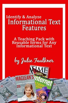 Informational Nonfiction Text Features -Mini Unit, Lesson,