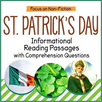 St. Patrick's Day Close Reading Informational Passages and Questions