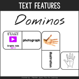 Informational Text Features Dominoes 2.0