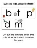 Initial Consonant Sound Identification