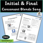 Initial & Final Consonant Blends - Learn about blends with