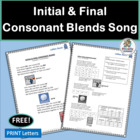 Initial & Final Consonant Blends- Learn about blends with