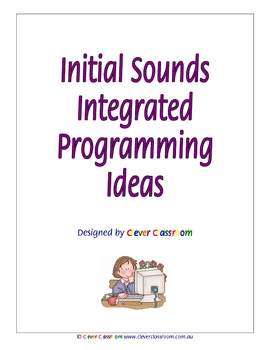 Initial/Single/Alphabet Sounds Programming Ideas Ebook - 46 pages