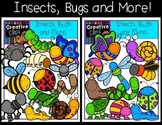 Insects, Bugs and More! {Creative Clips Digital Clipart}