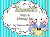 Insects Math and Literacy Fun