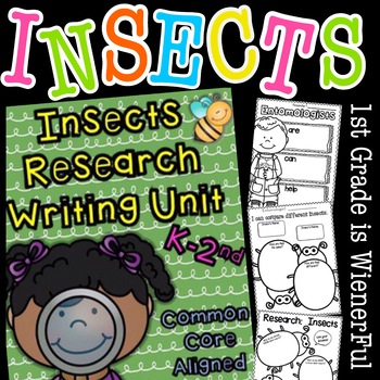 """Insects Writing """"Research"""" Unit ~Informational Text (Non-Fiction) Unit"""