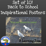 Inspirational Posters - Bird Theme Set 3
