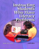 Instructing Students Who Have Literacy Problems (4th Edition)