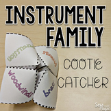 Instrument Family Cootie Catcher
