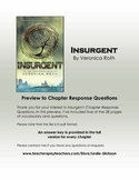 Insurgent: Chapter Response Questions