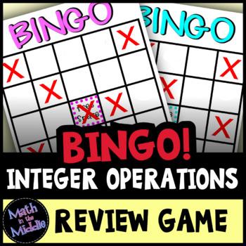Integer Bingo Review Game