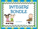 Common Core 6.NS & 7.NS ~ Integers Bundle