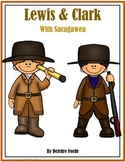 Lewis & Clark with Sacagawea