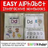 Interactive Alphabet Notebooks