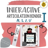 Interactive Articulation Binder for Speech Therapy