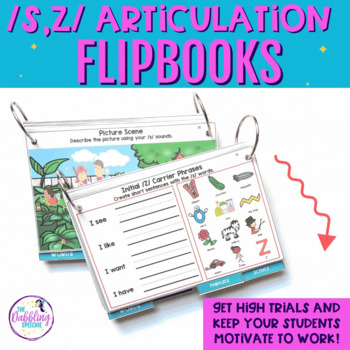 Interactive Articulation Flipbooks for /s,z/ with editable