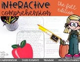 Interactive Comprehension {Fall}