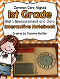 Interactive First Grade Math Notebook-Measurement and Data