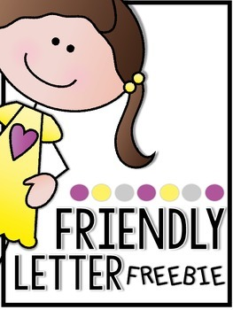 Interactive Friendly Letter Freebie