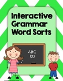 Interactive Grammar Word Sorts