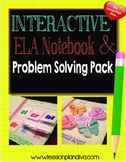 Interactive Language Arts Notebook CCSS 1st and 2nd