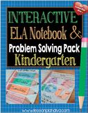 Interactive Language Arts Notebook CCSS Kindergarten