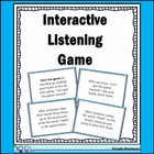 Interactive Listening Game - Ice Breaker and Community Builder