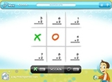 Interactive Math Game App-Tic Tac Math-Flash Application