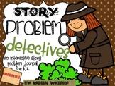 Interactive Math Journal-(Common Core) Story Problem Focus
