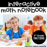 Interactive Math Notebook: Fractions for 3rd Grade (Math J